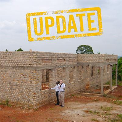 Girls' dormitory building work is nearing completion